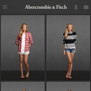 Abercrombie & Fitch mobile