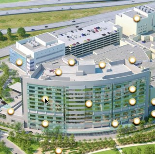 Nationwide Children's Hospital interactive map