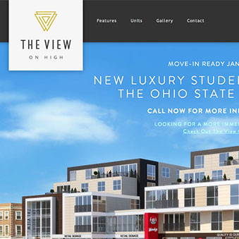 The View on High website